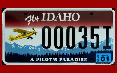 """""""Fly Idaho"""" License Plate Campaign Succeeded!"""